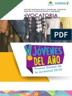 Premio Estatal de la Juventud 2018