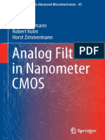 (Springer Series in Advanced Microelectronics 45) Heimo Uhrmann, Robert Kolm, Horst Zimmermann (Auth.)-Analog Filters in Nanometer CMOS-Springer-Verlag Berlin Heidelberg (2014)