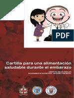 Cartilla Nutricion Gestantes 2014