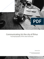 Psychogeography of the city of Aarhus