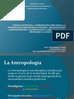 Antropologia.   Jorge Enrique Gómez (2015)