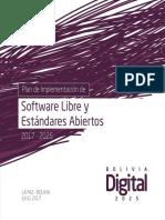Plan de Implementacion de Software Libre