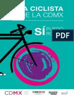 Guía Ciclista de la Ciudad de México. Sí puedo rodar - Versión Completa