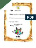 cartula colegio 2018