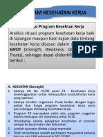 Program Kesehatan Kerja