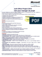 Microsoft Project 2016 Prise en Main Iseig