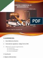 DERECHO COMERCIAL III (SOCIEDADES II) - (7 sem) S. Civil.pptx