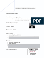 Propuesta de Proyecto de Integracion Antecedente de Etilenglicol
