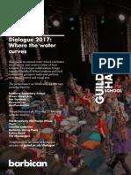 Dialogue 2017 Flyer