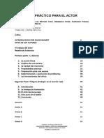 Un Manual Practico Para El Actor(2)
