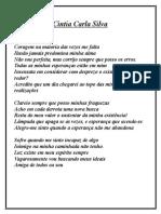 Texto Cintia Carla Silva