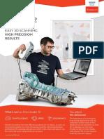 Brochure Artec Studio 3d Scanning Software