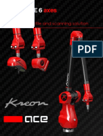 Brochure Kreon Ace 6 Axes Portable Cmm