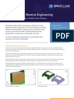 Brochure Spaceclaim Cad Modeling Software Reverse Engineering