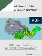 Brochure Pointshape Inspector 3d Inspection Software