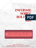 Joseph Pentland - Informe Sobre Bolivia