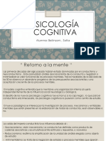 Presentación Psicología Cognitiva