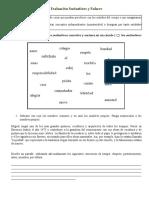 Sustantivos y Conectores, Cuento