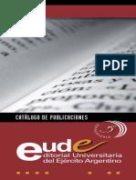 Catalogo EUDE 2013