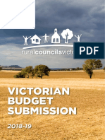 Regional Councils Victoria - State Budget 2018-19 Submission