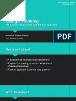 Design Thinking - Ivorum