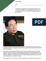 (SSA) 'South' Lt-Gen Yawdserk :Junta playing a dangerous game