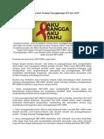 Manajemen Program Gerakan Nasional Penanggulangan HIV Dan