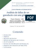 Analsis de Fallas de Un Gasoducto Con Grita Axial