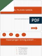 Soal Pilihan Ganda Sd ( Link)