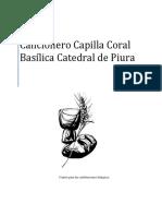 Cancionero Capilla Coral