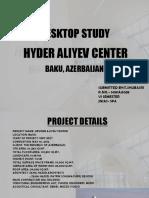 Report on Hyder Aliyev Center