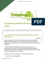 Aplicaciones Android Con App Inventor - Tu App Inventor