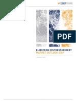 EU Distressed Debt Market Outlook 2009