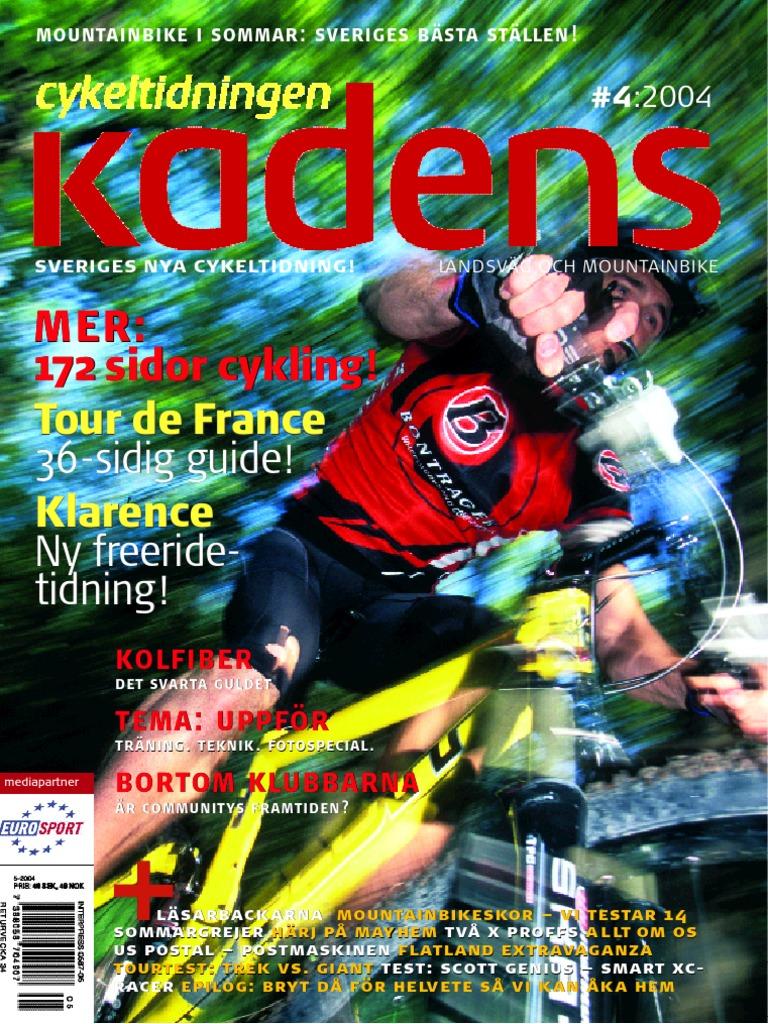 timeless design 9d50d 9ff8f Cykeltidningen Kadens   4, 2004