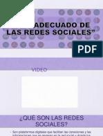 Karen Acerca Del Uso Adecuado de Las Redes Sociales