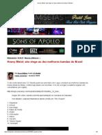 Heavy Metal_ Site Elege as Dez Melhores Bandas Do Brasil