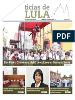 Noticias Cholula Abril 2018