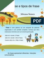 Frase e tipos de frase Silvana.pptx