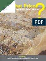 Gold Mining in Kachin State, Burma
