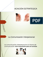 COMUNICACION ESTRATETICA senati