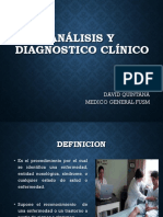 Analisis y Diagnostico Clinico