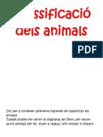 joc classificació d'animals
