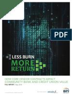 Less Burn More Return