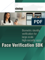 Face Verification SDK Brochure 2018-02-09