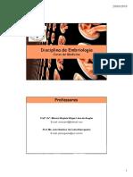 Disciplina de Embriologia - Medicina
