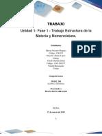 Formato Entrega Trabajo Colaborativo – Unidad 1 Fase 1 - Trabajo Estructura de La Materia y Nomenclatura_Grupo 201102_266 (2)