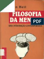 359243643 Heil John Filosofia Da Mente Uma Introducao Contemporanea 1998