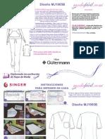 Instrucciones de Costura de la Blusa de Uniforme de Trabajo mj1905b.pdf