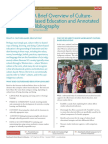 A Brief Overview of Culture-Based Education v3