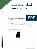 Ninguna eternidad como la mia - Angeles Mastretta
